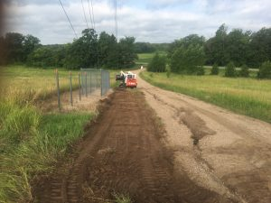 cell site access road maintenance