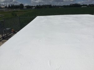 telecom shelter roof coating