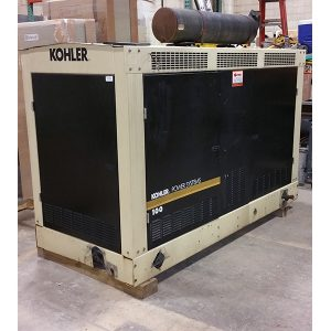 Kohler 100KW Natural Gas Used Generator For Sale (1125)