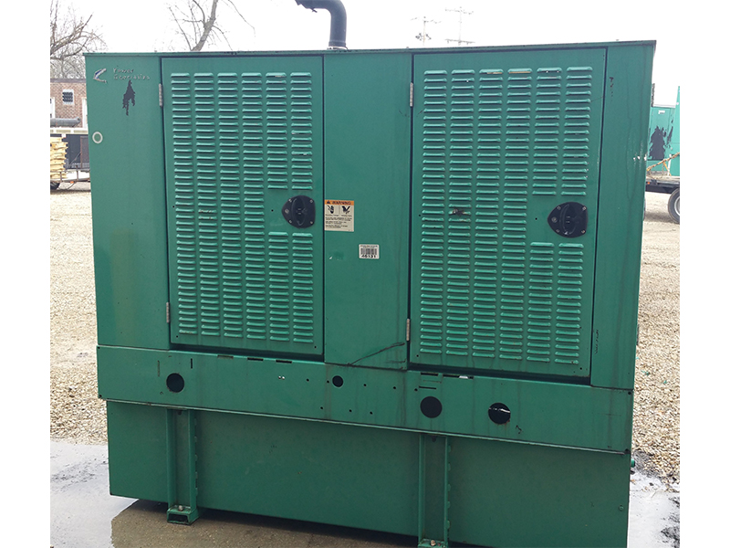Cummins 35KW Used Diesel Generator For Sale - 5277