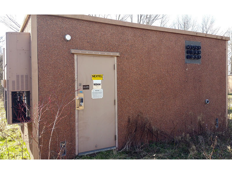 Rohn 12x20 Concrete Telecom Shelter For Sale (1528)