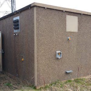 Miller 12x20 Concrete Communications Shelter For Sale (5088)