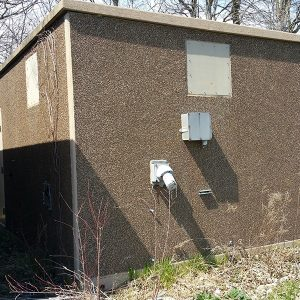 Miller 12x20 Concrete Telecommunication Shelter For Sale (5084)