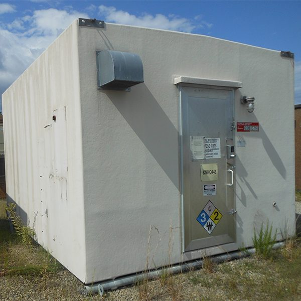 Ruf-Nek 12x16 Fiberglass Telecom Shelter For Sale (4984)