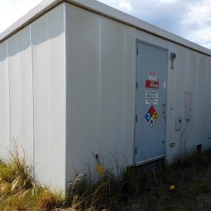 Kullman 12x20 FIberglass Telecom Shelter For Sale (9217)