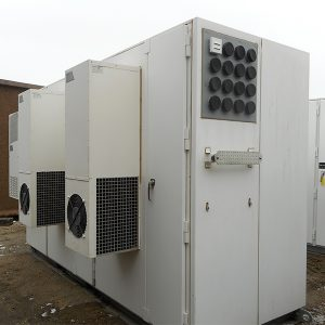 Sun West Aluminum Telecom Equipment Cabinet For Sale