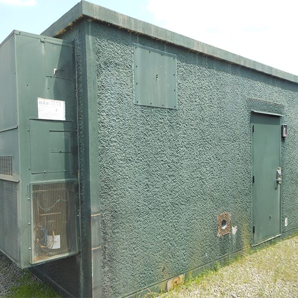 Oldcastle 12x20 Concrete Telecom Shelter For Sale (1659)