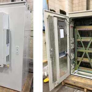 Emerson Network 36x80 Battery Cabinets For Sale