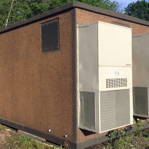 Miller 10x20 Concrete Communications Shelter For Sale (9415)