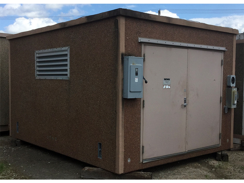 Rohn 12x16 Concrete Gen Room Shelter For Sale (2063)