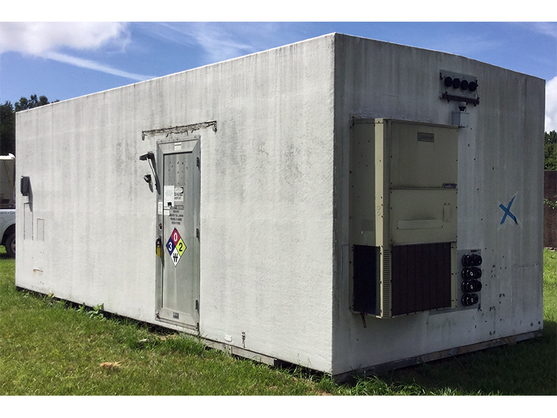 VFP 12x28 Fiberglass Communication Shelter For Sale (5033)