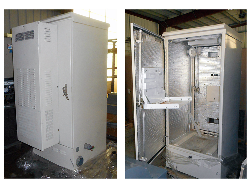 Hennessy Products Metal Telecom Equipment Cabinet For Sale (725)