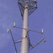 valmont 150 foot monopole tower - 883902