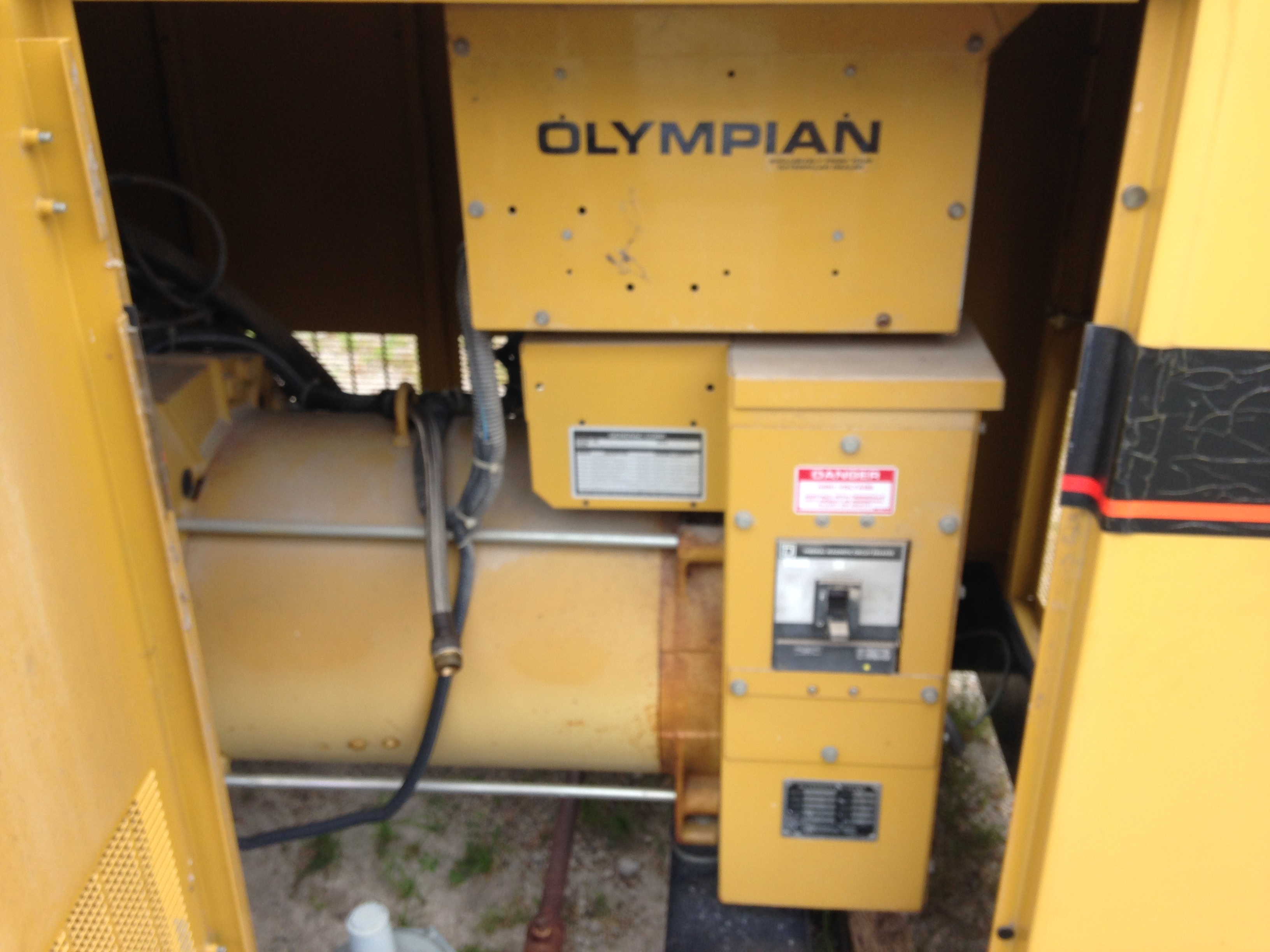 Generac 45KW Natural Gas Generator 1122 For Sale