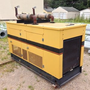 generac 45kw natural gas used generator