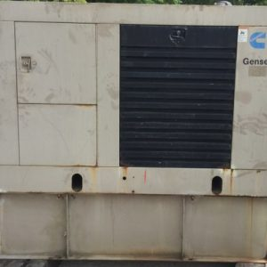 33-50KW Cummins switchable phase used diesel generator