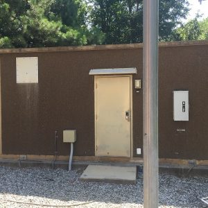 used 10x20 concrete shelter - andrew 4569