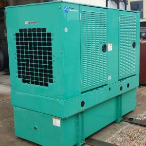 used Cummins 35kw Diesel Generator-0075 For Sale