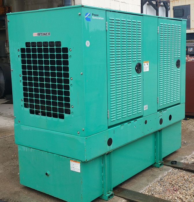 Cummins 35kw Diesel Generator-0075 For Sale