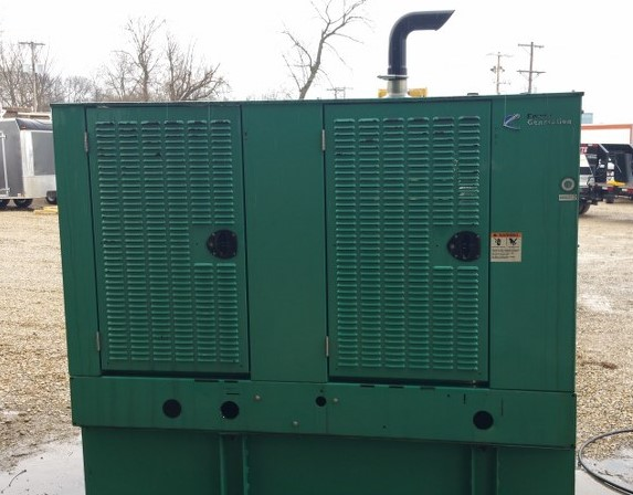used cummins used 35kw generator - 7533