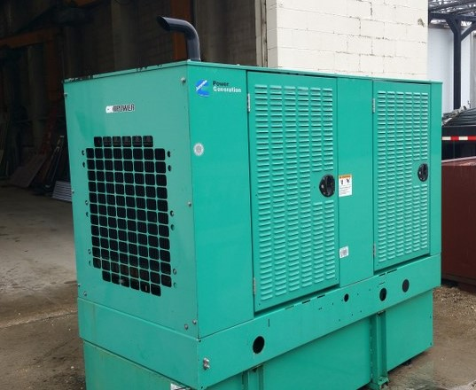 Cummins 35kw Diesel Generator-7533 For Sale
