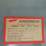 used andrew 12x28 concrete shelter - 0822