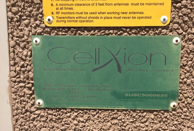 cellxion used 12x20 concrete shelter - 5656