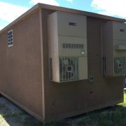used cellxion 12x20 concrete shelter - 5656