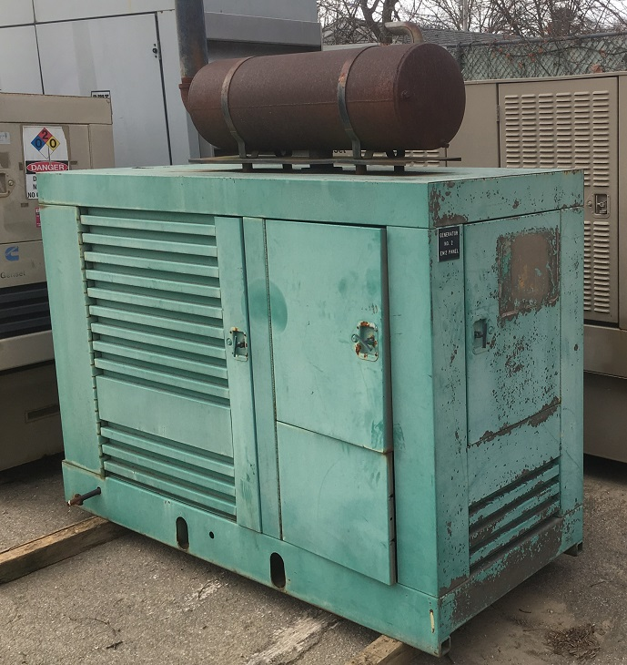 ONAN 60kw LP Generator - 1972 For Sale