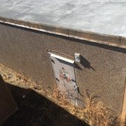 andrew 12x28 used concrete shelter - 0822