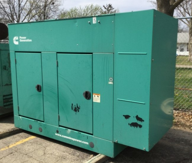 Cummins 35 KW LP Generator-3994 For Sale