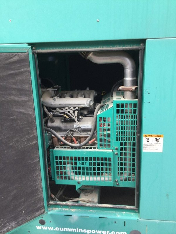 used cummins 35kw generator - 3994