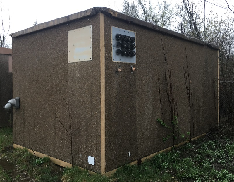 Andrew 12x20 Concrete Shelter (2812) For Sale