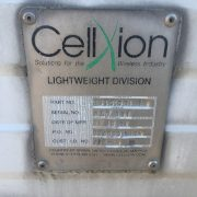 used cellxion 10x10 steel gen room - 0391